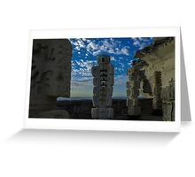 Sandstone sculptures Greeting Card