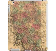 Vintage Tennessee Railroad Map (1888) iPad Case/Skin