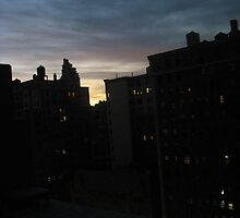 Sunrise, New York City by QuirkyBird