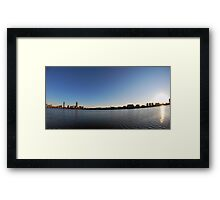 Boston From The Charles Framed Print