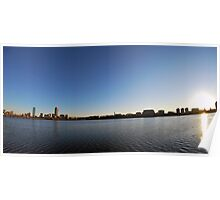 Boston From The Charles Poster