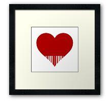 lovecode Framed Print