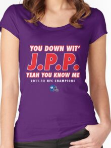 YOU DOWN WIT JPP? Women's Fitted Scoop T-Shirt