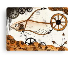 Clockwork Goldfish Canvas Print