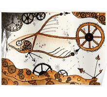 Clockwork Goldfish Poster