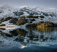 Lake Selfe, Canterbury (pano) by Michael Treloar