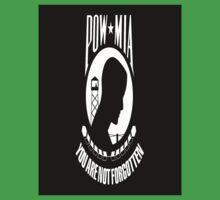 POW/MIA Flag One Piece - Short Sleeve