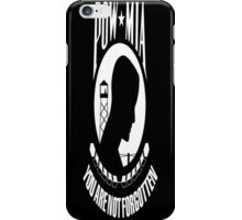 POW/MIA Flag iPhone Case/Skin