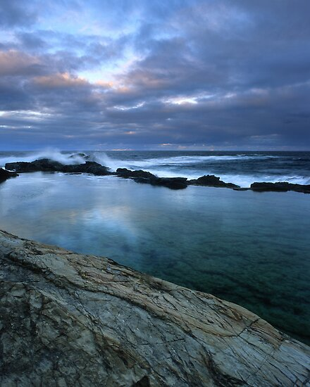 """Blue Pool"" ∞ Bermagui, NSW - Australia by Jason Asher"