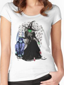 Elphaba The Wicked.  Women's Fitted Scoop T-Shirt