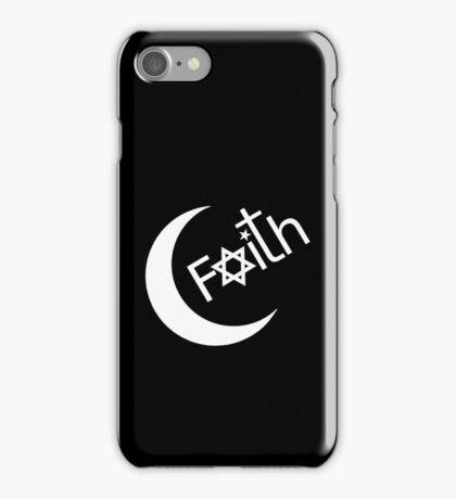 Faith - Black iPhone Case/Skin