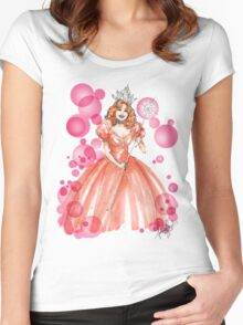 Glinda the Good Women's Fitted Scoop T-Shirt