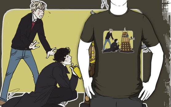 Wholock with Daleks by reapersun