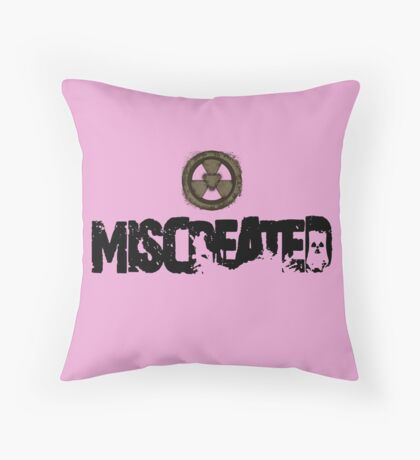 Miscreated  Design 1 Pink (Official) Throw Pillow