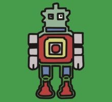 bobby the robot One Piece - Short Sleeve