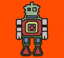 bobby the robot Kids Clothes
