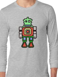 bobby the robot Long Sleeve T-Shirt