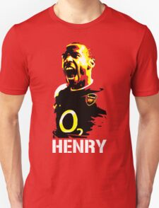 Thierry Henry Arsenal's Legend Unisex T-Shirt