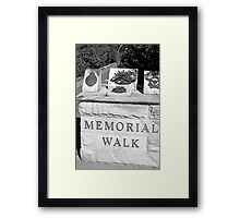 North Head Manly - Memorial Walk Framed Print