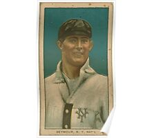 Benjamin K Edwards Collection Cy Seymour New York Giants baseball card portrait 002 Poster