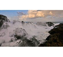 Over the Top, Wave Crasher Photographic Print