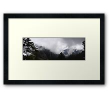 Winter view on Olympus Framed Print