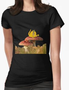 Cat agaric? Womens Fitted T-Shirt