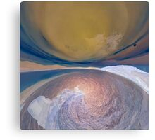 Earth, land and sky. Canvas Print