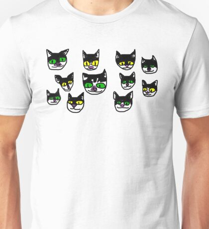 several crude cats Unisex T-Shirt