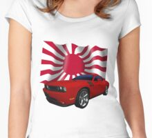 Challenger Japan Women's Fitted Scoop T-Shirt