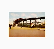 Elevated Train at 110th Street NYC Photo-Print Unisex T-Shirt