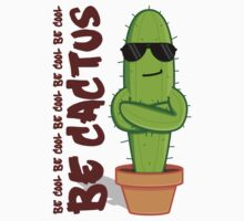 Be Cool Be Cactus Kids Tee