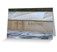 North Head Manly - Peace Keeping Greeting Card