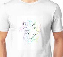 Rainbow Shark Unisex T-Shirt