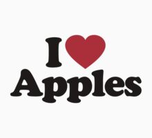 I Love Apples by iheart