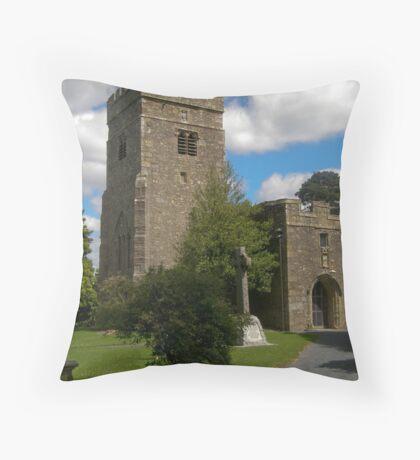 St John the Baptist Church Tunstall Lancashire Throw Pillow