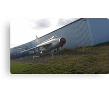 English Electric Lightning - North East Aircraft Museum Canvas Print
