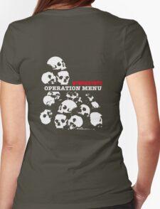 Operation Menu Womens Fitted T-Shirt