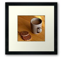 Elevenses Framed Print