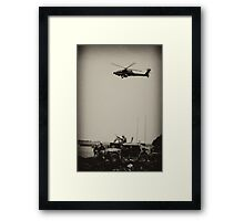A Day In Iraq Framed Print