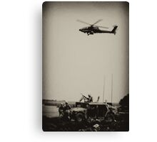 A Day In Iraq Canvas Print