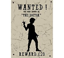 Wanted (Doctor Who) Photographic Print
