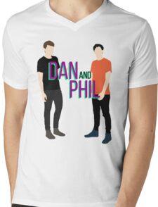 Dan Howell and Phil Lester Mens V-Neck T-Shirt