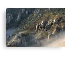 Dimerdzhi valley in Crimea Russia Canvas Print