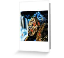 Willow River Falls 5 Greeting Card