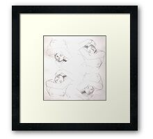Woman Times Four Framed Print