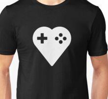 Basic We Love Gaming Heart Unisex T-Shirt