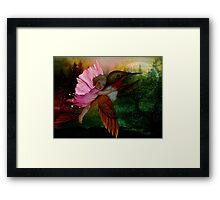 Childhood Garden Framed Print