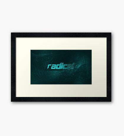 Radical Wallpaper Framed Print