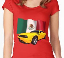 Challenger Mexico Women's Fitted Scoop T-Shirt